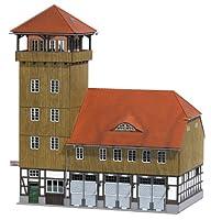 Busch Environnement - BUE1450 - Modélisme Ferroviaire - Caserne de Pompiers