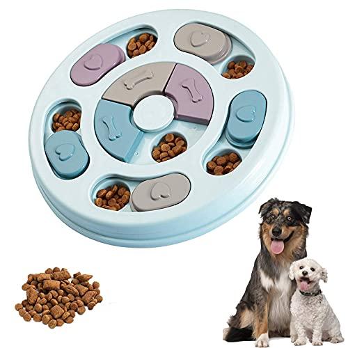 Juguete de Puzle para Perros, Puzle de juguete interactivo para perros,Juguetes educativos para Mascotas,Alimentador Lento para Perros, alimentador de Juegos de Entrenamiento