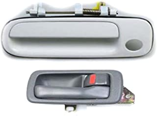B455 For Toyota Camry Outside Door Handle Super White 040 Rear Left 97-01