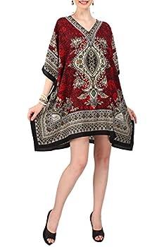 Women s Kaftan Tunic Kimono Dress Summer Evening Plus Size Beach Cover Up 10 -24