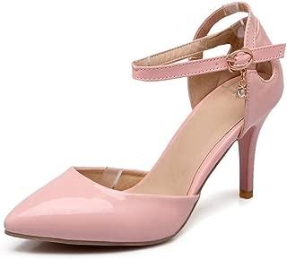 BalaMasa Womens ASL06135 Pu Heeled Sandals
