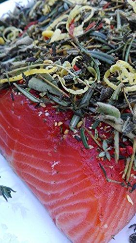 Lachs gebeizt (Graved) Italia 1.1 kg ✔ Mit frischen Kräutern und Bio Zitrusfrüchen in eigener Manufaktur hergestellt