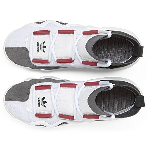 adidas Mens Crazy 8 A/D White/Red-Black Mesh Size 11