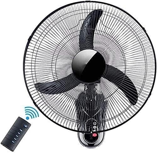 YZPDD Inicio silencioso Oscilating Industrial Fan-Suge-Suge Mounted Mounted Fan, Que Incluye el Control Remoto-3 ajustes de Velocidad-3 modos-15h Temporizador