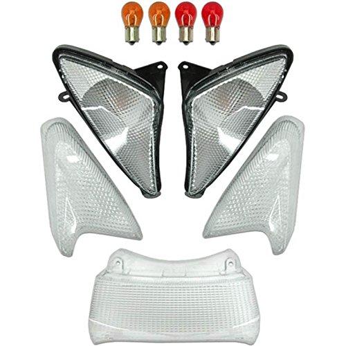 Hmparts Revestimiento Set de Moto Dirt Pit Bike 200-250 T5 Azul Klx-Agb
