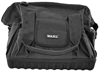 Wahl Professional Animal Black Durable Frog Mouth Carry-All Tool Bag #93195-001 (Discontinued by Manufacturer), 14.6 Inches