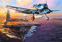 XiuTaiLtd カラーアートパズル子供大人識字パズル1000ピースシナノキ木材壁画家族装飾戦争飛行機