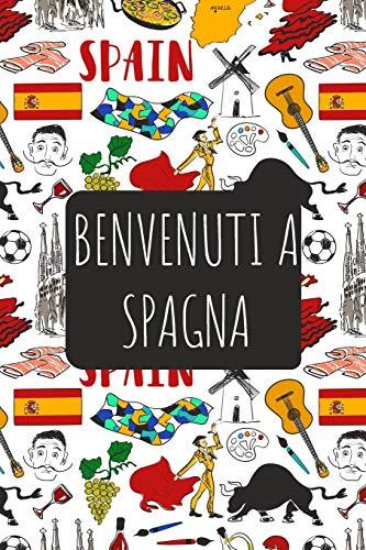 Benvenuti a Spagna: 6x9 Diario di viaggio I Taccuino con liste di controllo da compilare I Un regalo perfetto per il tuo viaggio in Spagna e per ogni viaggiatore