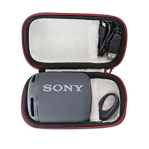 Portátil Funda para Sony SRS-XB10/Sony SRS-XB12 Altavoz inalámbrico portátil Bolsa Protectora rígida de Viaje por VIVENS