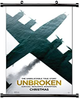 Unbroken Movie Poster Fabric Wall Scroll Poster (32x51) Inches