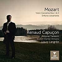 Mozart: Violin Concertos Nos. 1 & 3 / Sinfonia concertante by Renaud Capucon (2009-05-05)