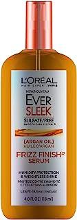 L'Oreal Paris EverSleek Sulfate Free Frizz Finish Oil-In-Serum, 4 Fl. Oz