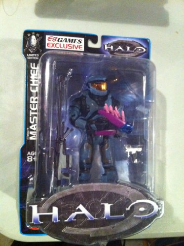 Joy Ride Halo Limited Edition Cobalt Master Chief [75488G-7HA] (with Sniper Rifle, Pistol, and Needler)