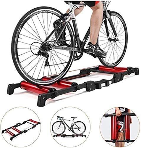 Lanrui Bici MTB Robusto Ajustable Bicicletas Turbo Trainer Reducción de Ruido Gran compatibilidad Puede Contener hasta 220 Libras / 100 kg Bike