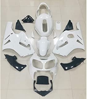 ZXMOTO Unpainted Fairings Sets for Kawasaki ZX12R ZX-12R 00-01 Year 2000 2001 Bodywork Full Cover Kit ABS
