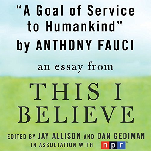 A Goal of Service to Humankind audiobook cover art