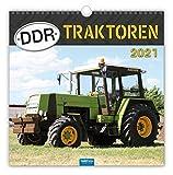Technikkalender 'DDR-Traktoren' 2021: 30 x 30 cm, mit Bildern von Ralf-Christian Kunkel