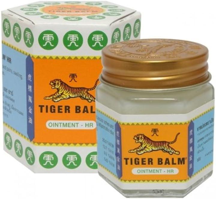 Balsamo di tigre bianco 30gr - naturalbalm B00Y4WH4JU