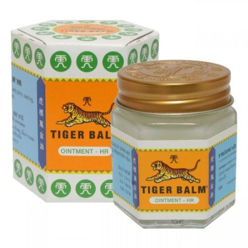 1 X 30g Tiger Balm White 30g Version 30g of Tiger Balm White Is Effective for Migraine Headaches, Insect Bites or Nasal Congestion