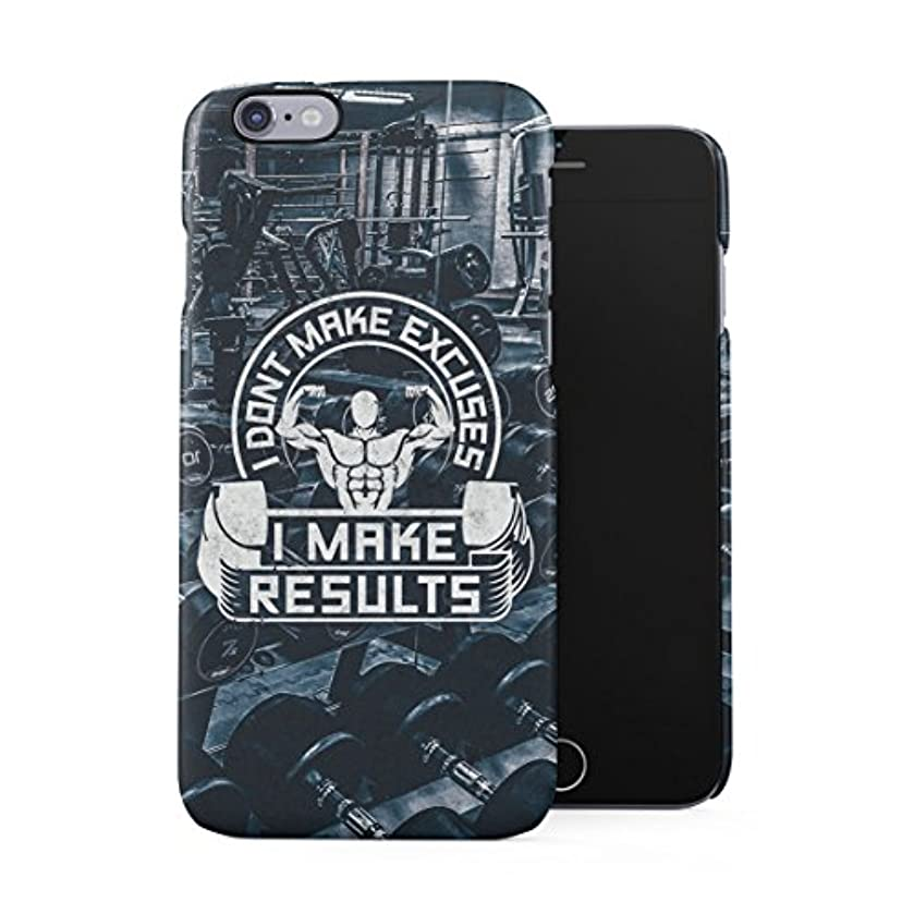 Sports Centre Bodybuilding Hardwork Lifting I Make Results Motivation Quote Plastic Phone Snap On Back Case Cover Shell for iPhone 6 & iPhone 6s