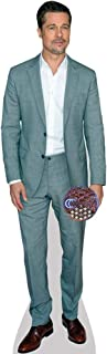 Brad Pitt (Grey Suit) Mini Cutout