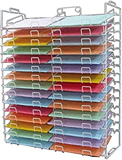 Wire Display Rack New 30 Slot Scrapbook Paper 12