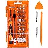 Zacro 62 in 1 Schraubendreher Set mit 56 Bits Magnetische Schraubendrehersatz Werkzeugset für Smartphone, Iphone 7, Iphone 7 Plus, Handy, Tablet, PC, Macbook, Uhr