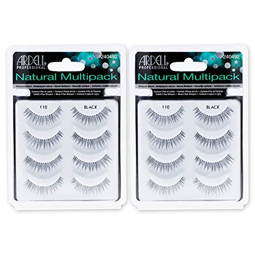 Ardell Natural Multipack 110 Black, 4 Pairs x 2 Packs