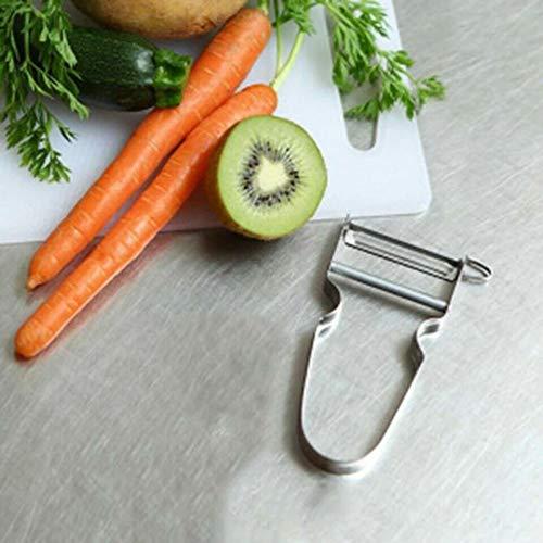 Kashome Schiller handmatige dunschiller carote kostbare fruit van staal 11,5 cm