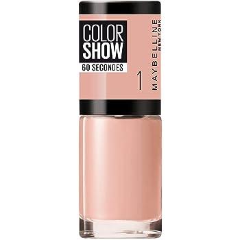 Maybelline New York Smalto Color Show, Colore Brillante, Asciugatura Rapida, 01 Go Bare