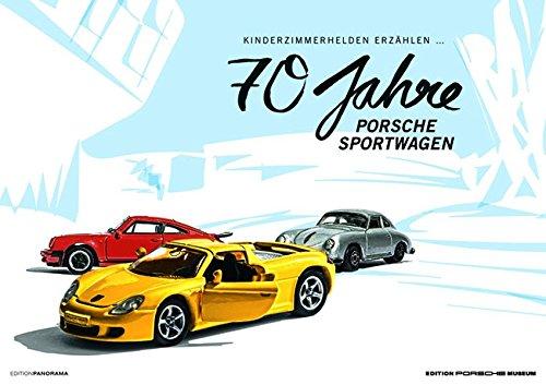70 Jahre Porsche Sportwagen I Kinderzimmerhelden: Immerwährender Kalender im Großformat 1 Meter x 70 cm