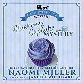 Blueberry Cupcake Mystery audiobook cover art