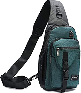 Sling Bags, Chest Shoulder Backpack Crossbody Bag One Strap Daypacks Fit 11.6-Inch Laptops iPad Outdoor Travel for Men Wom...