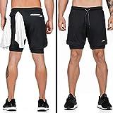 Zoom IMG-1 jepozra pantaloncini running uomo estivi