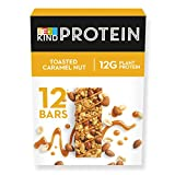 BE KIND Barrita Proteina de Caramelo tostado con frutos secos, paquete de 12 unidades...
