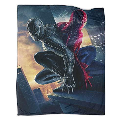 Manta infantil de Spiderman súper suave y cálida (180 x 230 cm)