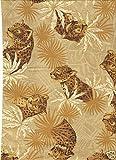 Fat Quarter Jungle, Leoparden-Muster, Baumwolle, 50 x 55 cm