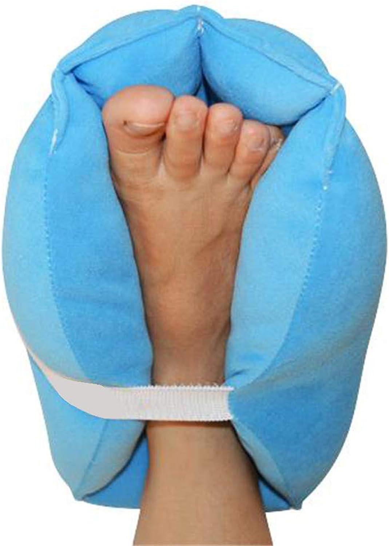 Heel Predector Pillows Anti-Decubitus Heel Predection PadHeel Pillow Pad,Bedridden Patient Care,Great for Swollen Feet,bluee,1pcs