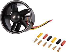 XCSOURCE 64mm Ducted 5-Rotor Fan with 4500KV Brushless Outrunner Motor Balance Tested for EDF Jet Airplane