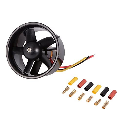 XCSOURCE 64mm Ducted 5-Rotor Fan with 4500KV Brushless Outrunner Motor Balance Tested for EDF