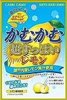 かむかむ超すっぱいレモン 袋 30g ×10個