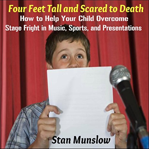 Four Feet Tall and Scared to Death audiobook cover art