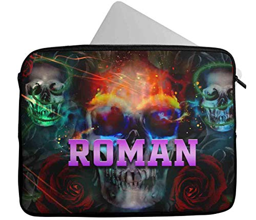 Personalised Any Name Generic Design Laptop Case Sleeve Tablet Bag Chromebook Gift 40 (9-10 inch)