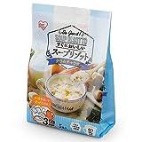 アイリスオーヤマ スープリゾット レトルト スープ クラムチャウダー 120g×5食パック 1個