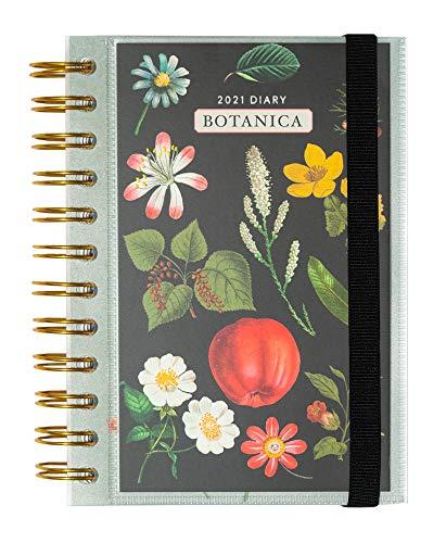 Grupo Erik AGEDP2107 Agenda 2021 giornaliera Botanica, pratica, funzionale e compatta, 16 x 11.4 cm, licenza ufficiale 100%