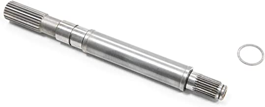 SuperATV Heavy Duty Front Output Shaft for Select Polaris RZR/Ranger/General Models (See Fitment) - Replaces OEM # 3235394