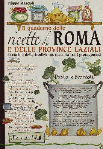 Quaderno delle ricette di Roma e delle province laziali