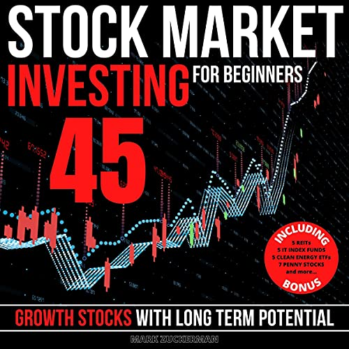 Stock Market Investing for Beginners: 45 Growth Stocks with Long Term Potential cover art