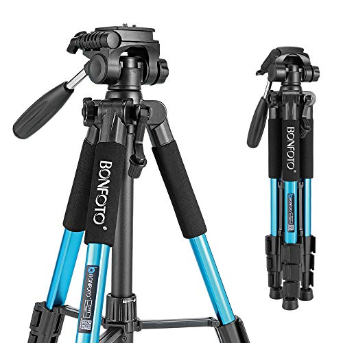 55-Inch Pro Aluminum Tripod for photo and video