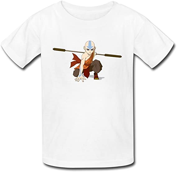 DUDBFGG Avatar The Last Airbender Kids Summer Short Sleeve T-Shirt Causal Sports Tee Top